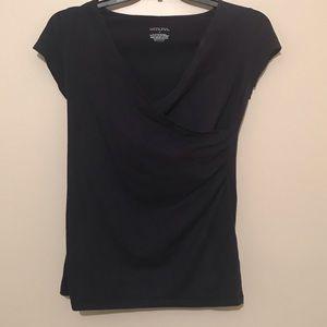 Merona | Navy Wrap Shirt